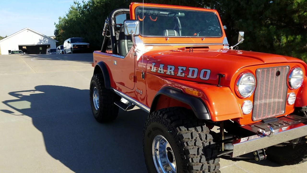 1980 jeep cj7 fully restored to 100 new [ 1280 x 720 Pixel ]