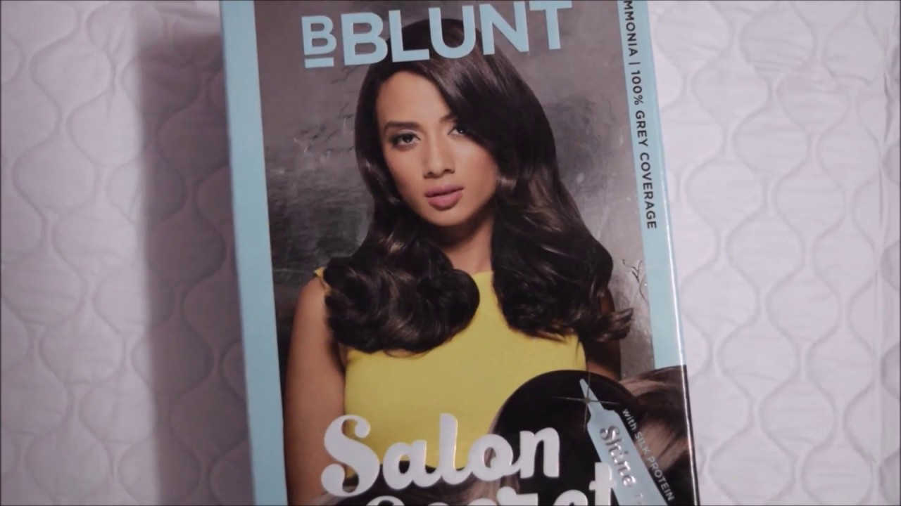 How to Color Hair at Home using Bblunt Salon Secret | Review ...