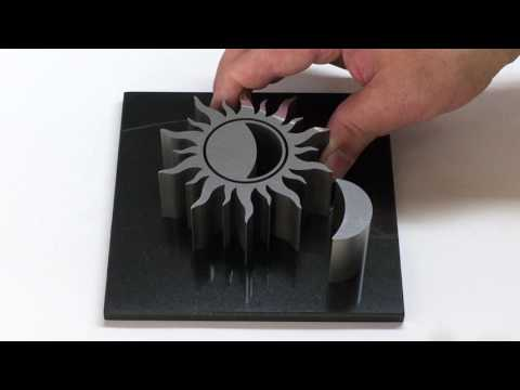 Impossible Fit Metal Art by dieter stahlwerx. Must see to believe!