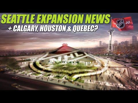Seattle Expansion News + Calgary, Houston & Quebec?