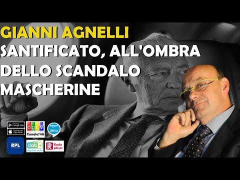 Gianni Agnelli santificato all'ombra dello scandalo mascherine. Carlo Cambi