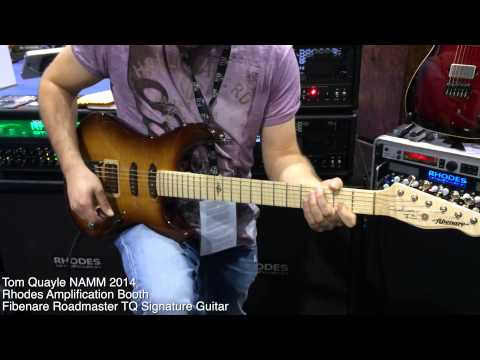 Rhodes Amplification Booth NAMM 2014 – Tom Quayle (lots of notes warning!)