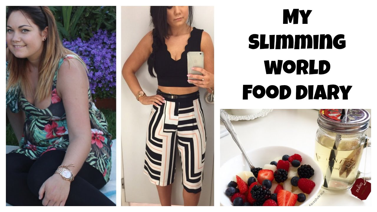 My Slimming World Food Diary Youtube