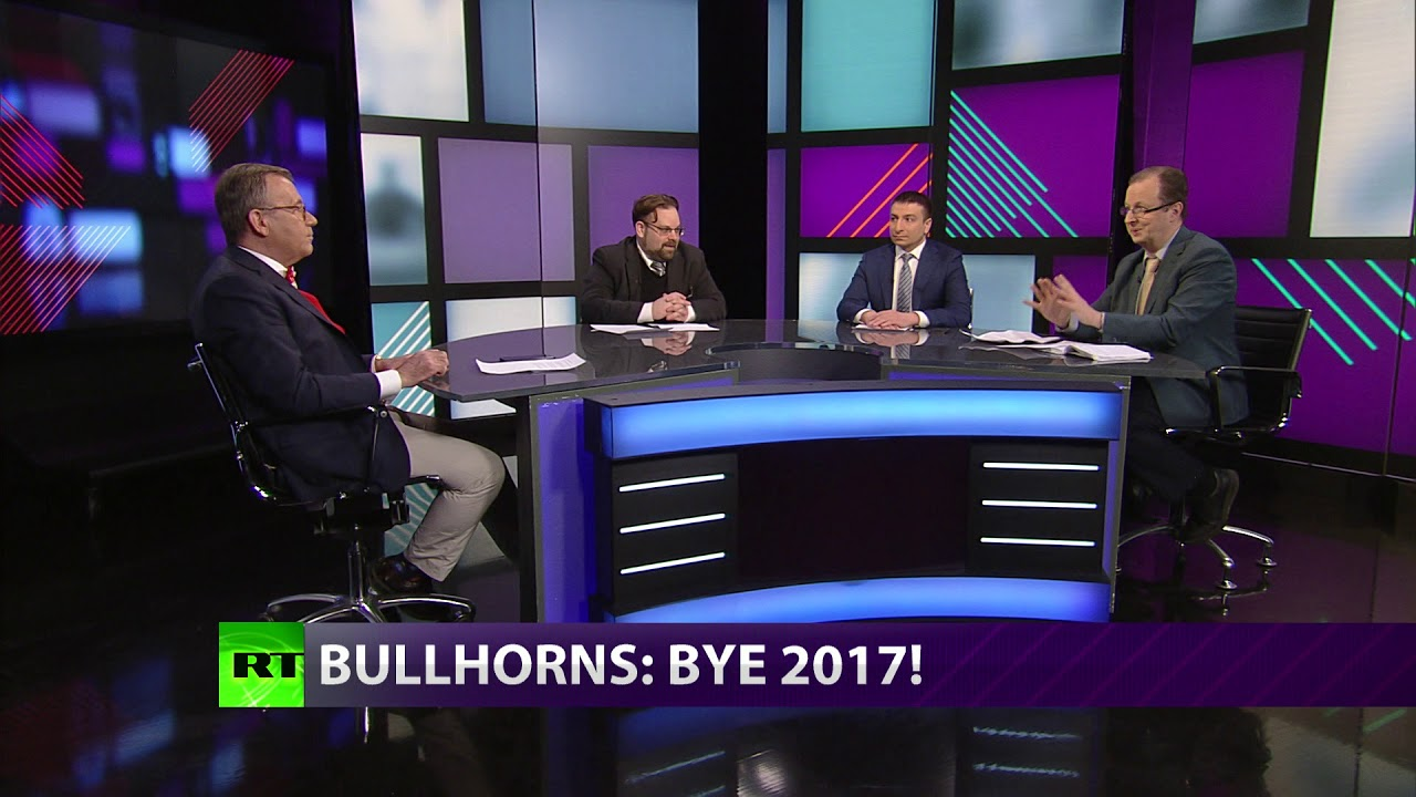 CrossTalk: Bullhorns: Bye, 2017! (SPECIAL EXTENDED VERSION)