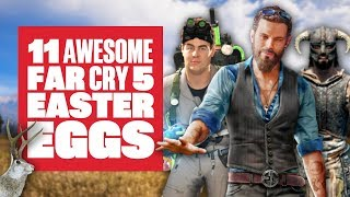 11 Far Cry 5 Easter Eggs You Might Have Missed - Skyrim, Tremors, Ghostbusters and MORE!