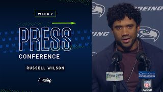 Russell Wilson Postgame Press Conference vs Ravens | 2019 Seattle Seahawks