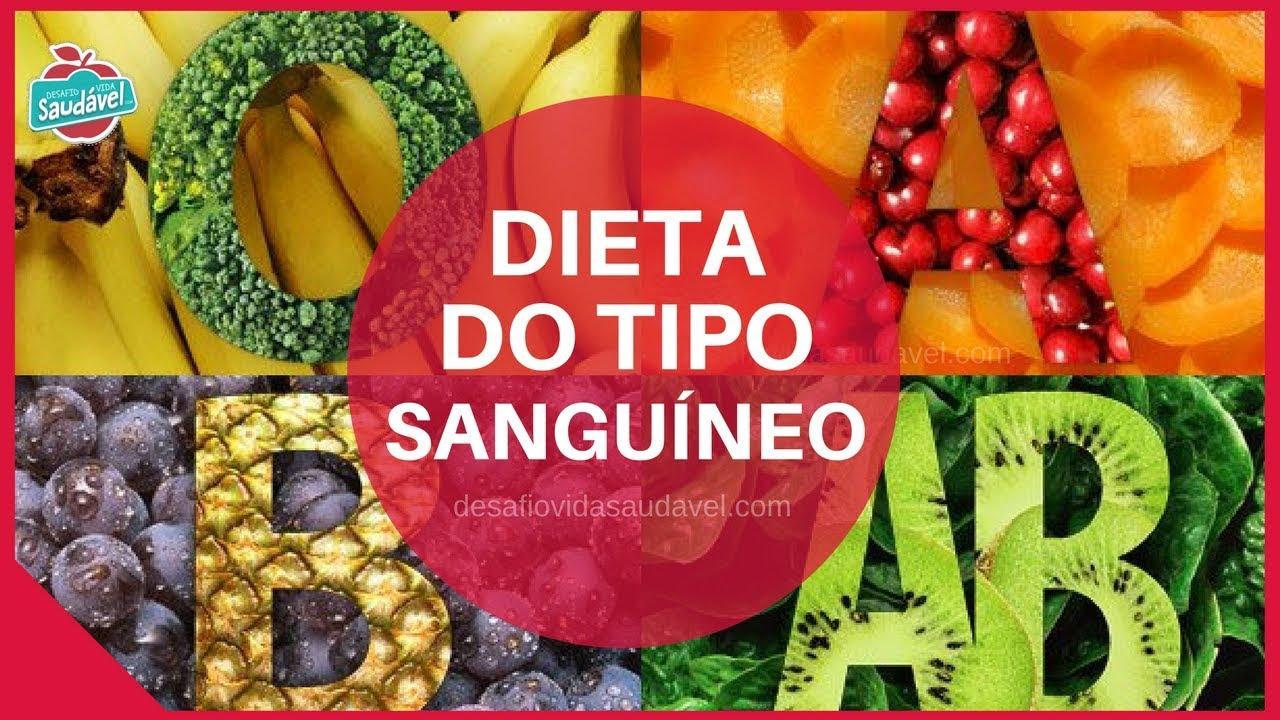 Dieta do tipo sanguineo a positivo para emagrecer cardapio