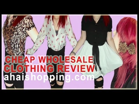 CHEAP WHOLESALE CLOTHING REVIEW! | Ahaishopping.com [GIVEAWAY!]