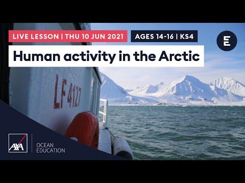 Human activity in the Arctic | AXA Arctic Live 2021 | KS4 / Ages 14-16