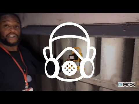 """Air Handling Unit Maintenance - Watch our """"before & after"""" filter change and deep AHU clean"""