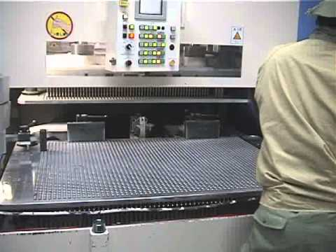 SEPARATE BLANKING MACHINE AFTER DIECUTTING - YouTube