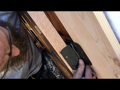 How To Install A Door Jamb And Hang A Door | Fouch-o-Matic Workshop