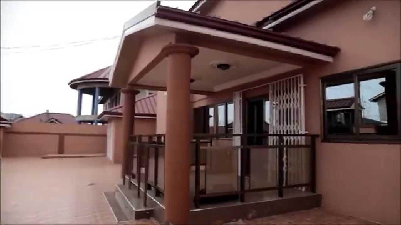 5 bedroom house for sale in accra realhomestv youtube for Beautiful 5 bedroom house plans with pictures