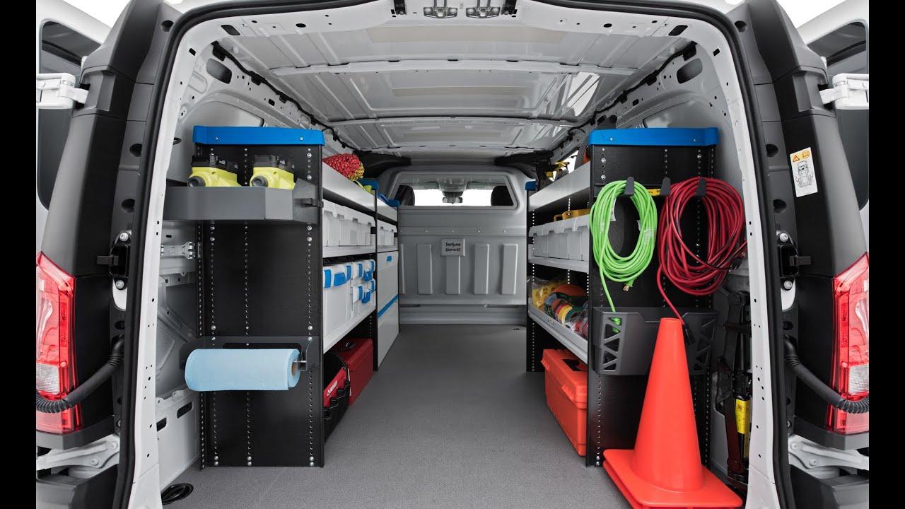 2016 Mercedes Benz Metris Cargo Van A Medium Size Box
