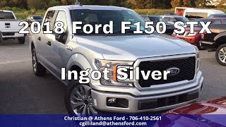 2018 Ford F150 STX - Ingot Silver - Quick Walk Around