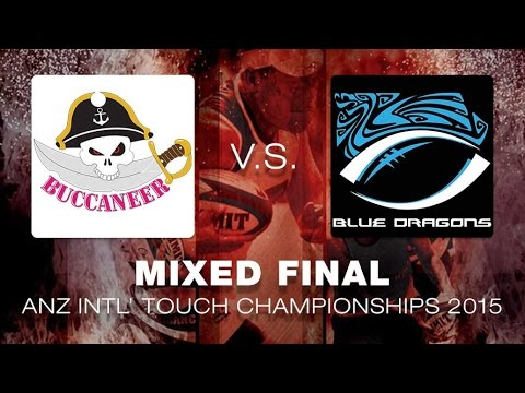 ANZ Intercities 2015 - Mixed Open Finals - Buccaneer vs. HK Blue Dragons