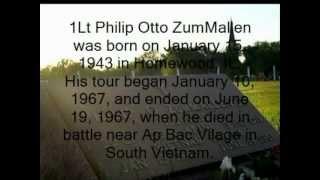 Tribute to Lt. Philip O. ZumMallen