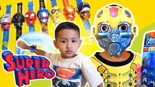 Drama Superhero Beraksi Pakai Banyak Jam Tangan Karakter Superhero