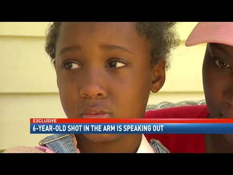 "6-year-old shooting victim ""Mama, I'm going to die"". NBC 15"