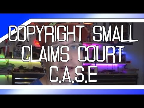 Copyright Small Claims Court bill introduced to Congress (CASE Act) Mp3