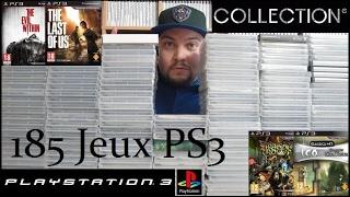 Ma collection de 185 jeux PS3 (11/02/2017)
