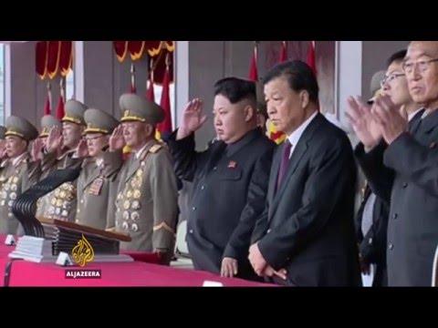 Defiant North Korea 'fires ballistic missiles into sea'