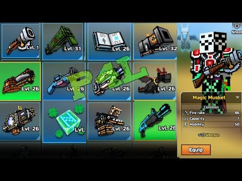 SO This Secret Cheat Code Lets You Buy Everything For FREE In Pixel Gun 3d (Pg3d Acc Giveaway)