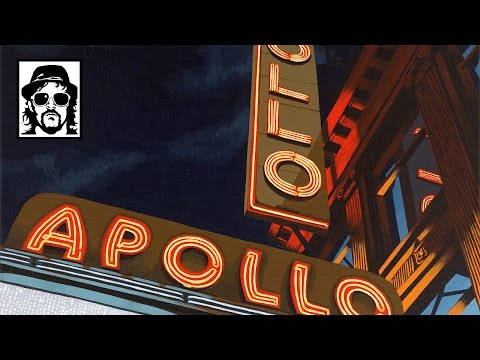 Borbay Paints The World Famous Apollo Theater