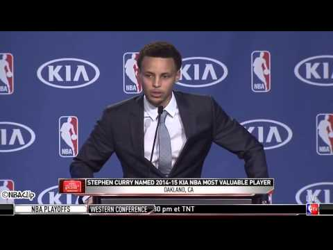Stephen Curry Full 2015 NBA MVP Speech