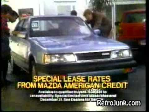 Mazda Year Clearance 1987 Commercial