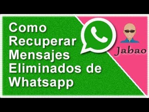 Se Pueden Recuperar Mensajes De Whatsapp Borrados Iphone
