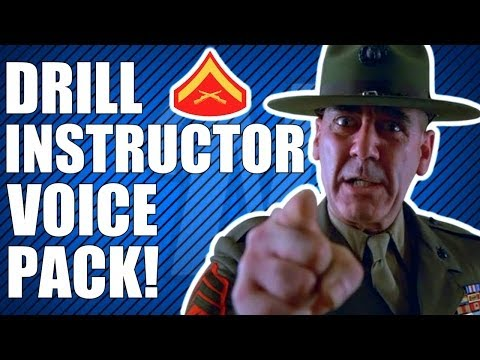 COD Ghosts: Drill Instructor Voice Pack! (Actual Gameplay)
