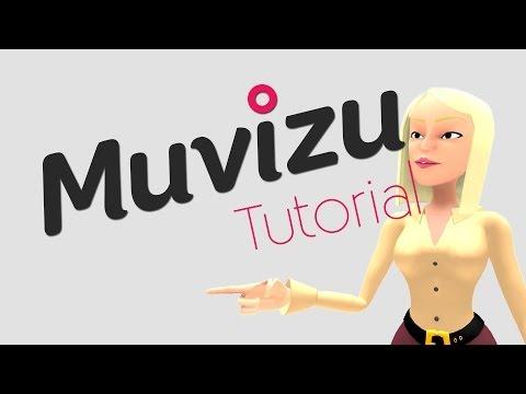 Muvizu Tutorial #1 - 3D Animations Software - Einführung - [German]