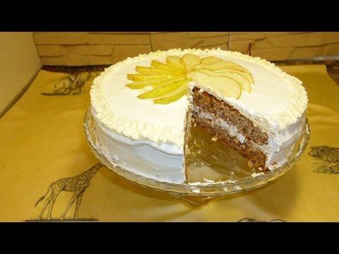 Торт с добавлением меда с фото