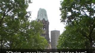 """Charlottenburg: Orgelwerk von J.S. Bach """"Christ, unser Herr, zum Jordan kam"""",  BWV 684"""