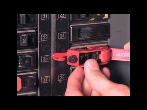 493b Grip Tight Circuit Breaker Lockout Youtube