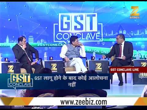 GST Conclave: 'It is our responsibility to educate the consumer about GST' - Piyush Goyal