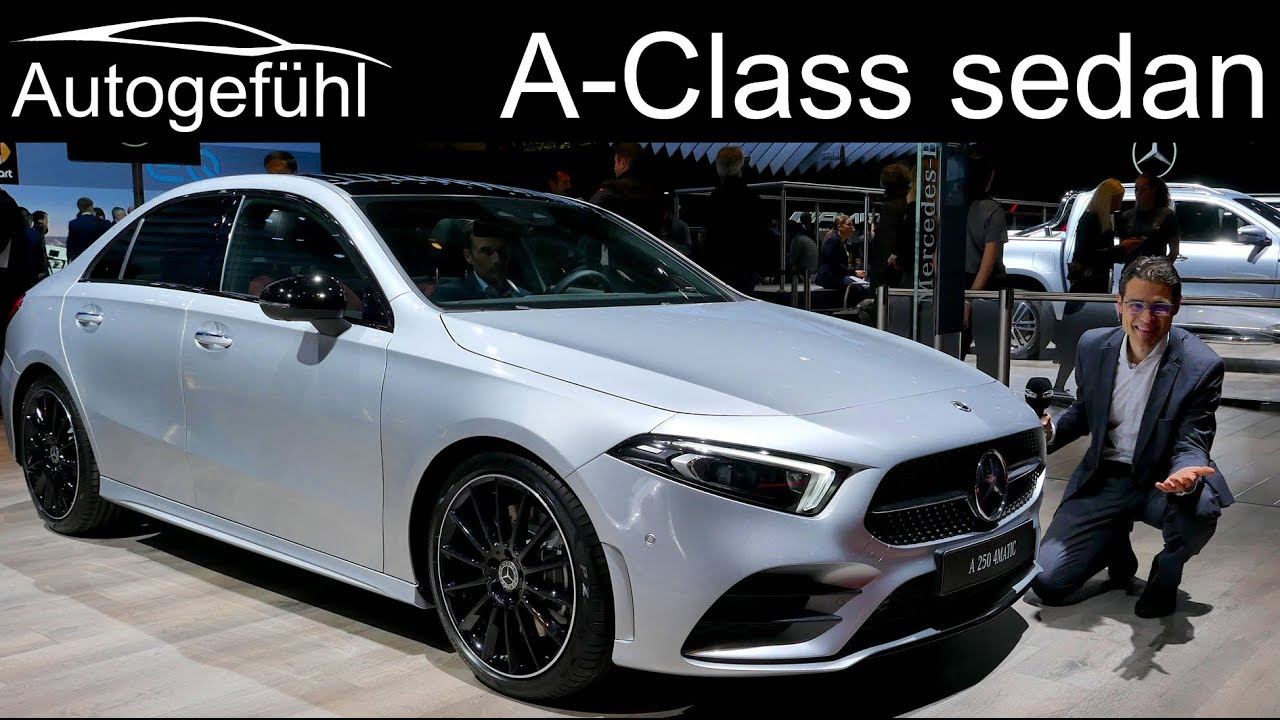 2019 mercedes a class sedan review aclass saloon limousine. Black Bedroom Furniture Sets. Home Design Ideas