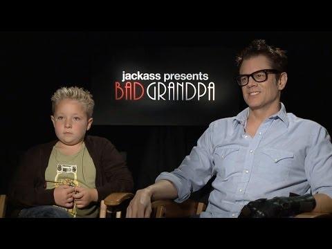 Johnny Knoxville & Jackson Nicoll  Jackass Presents: Bad Grandpa  HD