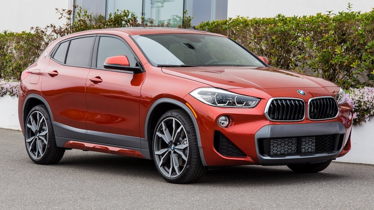 The new 2018 BMW X2 Sunset Orange | In Depth Review and ...