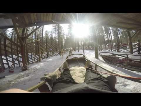 GoPro Rovaniemi, Lapland - Finland  4K video