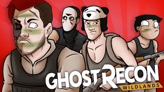 Ghost Recon Wildlands Funny Moments: Getting Run Over, Superman Launch & Panda Rage!