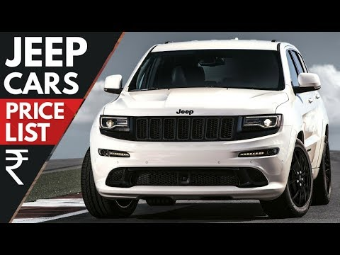 Jeep Cars Price List [UPDATED] [2018]