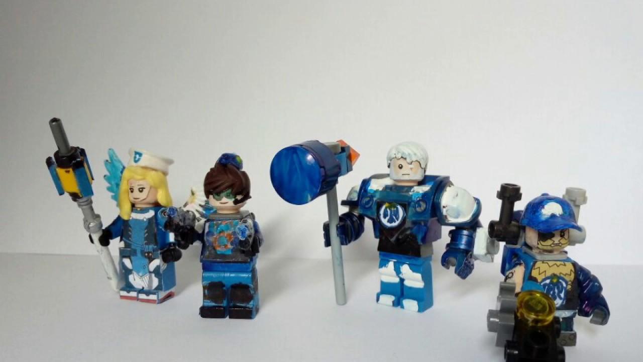LEGO OVERWATCH Uprising Agent Skins YouTube