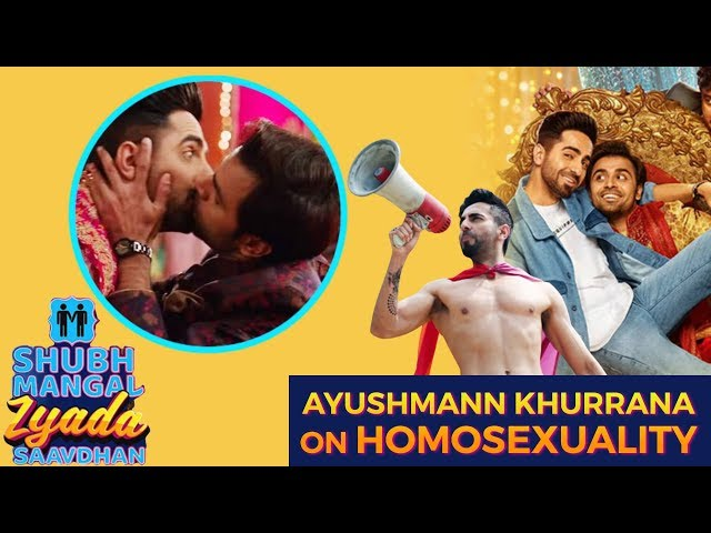 Ayushmann Khurrana TALKS on Homosexuality & his First Reaction when he heard about it | 21 Feb, 2020