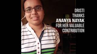 DRISTI Intern Stories | Ananya Nayak