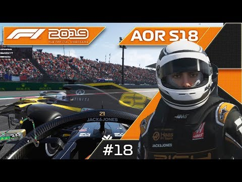 THIS RACE WAS CRAZY! AOR F1 2019 XB1 F3 S18 Round 18 Mexican GP!