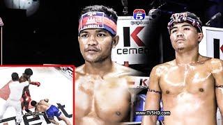 ពុយ វណ្ណៈ Vs (ថៃ) ភិកា , TV5 Boxing, 21/July/2018   Khmer Boxing Highlights