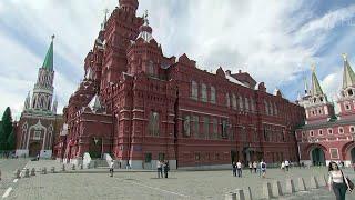 Москва, Красная площадь, дом 1 - Исторический музей первым открылся после карантина.