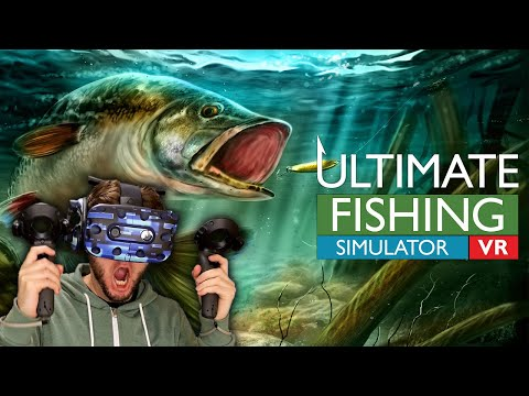 BEST FISHING GAME IN VIRTUAL REALITY? | Ultimate Fishing Simulator VR Gameplay (HTC Vive)